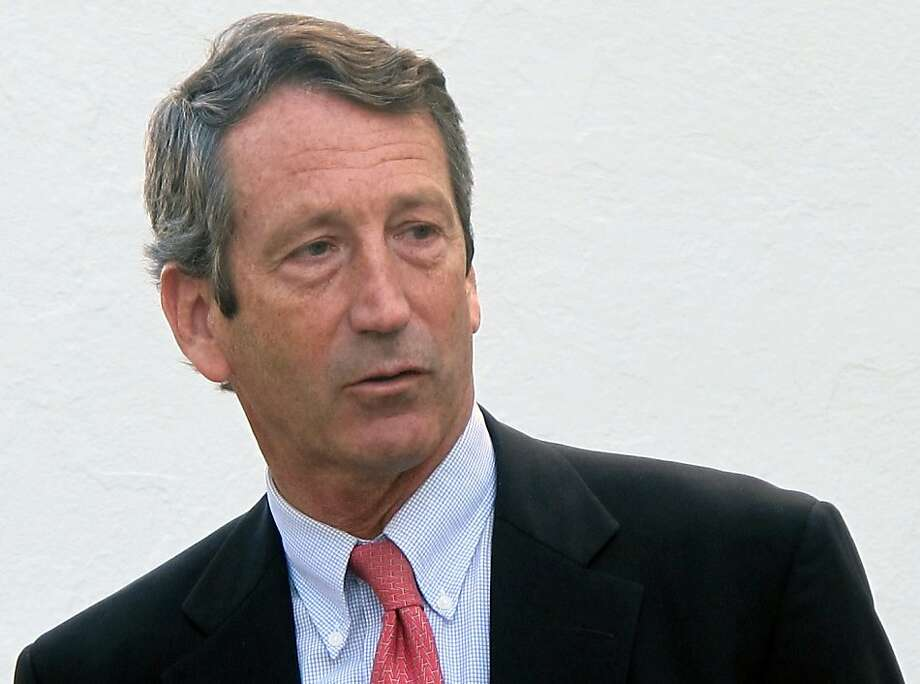 Republican Mark Sanford vanished from the governor's job for five days in 2009. Photo: Bruce Smith, Associated Press