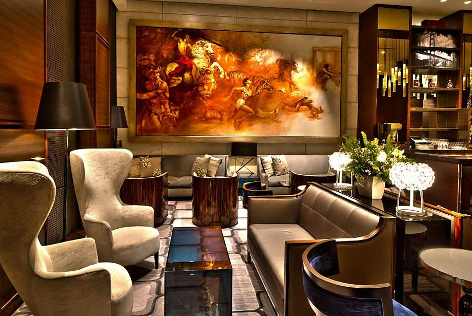St. Regis lobby lounge Photo: Sherman Chu