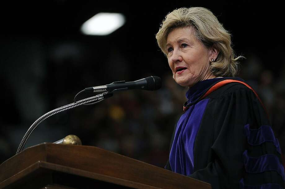 Sen. Kay Bailey Hutchison of Texas was one Republican calling for accord. Photo: Andrew D. Brosig, Associated Press
