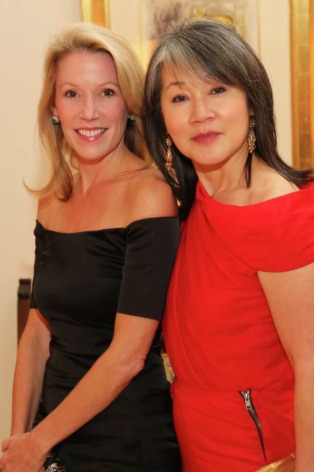 Claudia Craft, left, and Ruth Chow Kneese Photo: Priscilla Dickson