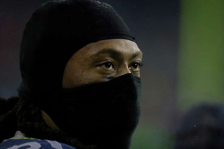 Seattle Seahawks' Bruce Irvin before an NFL football game against the San Francisco 49ers Sunday, Dec. 23, 2012, in Seattle. Photo: AP