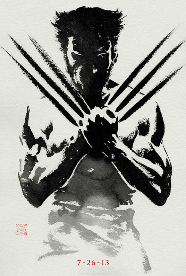 Entertainment Weekly #2 - THE WOLVERINEThe elegant and simple paint strokes of this one capitalize on its Japan-set plot and, according to EW, wash away memories of X-Men: The Last Stand.