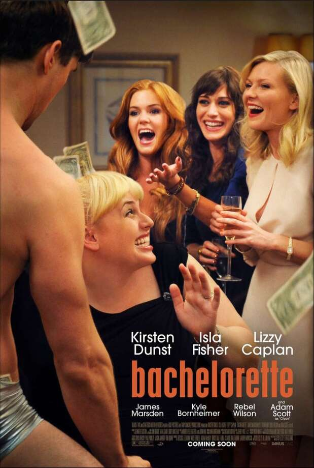 Entertainment Weekly #9 - BACHELORETTEEW likes this poster because it's the only they've included that comes from an actual scene in the movie (like last year's head shaving 50/50 poster). I don't know, those three in the back seem like some bad photoshop to me.