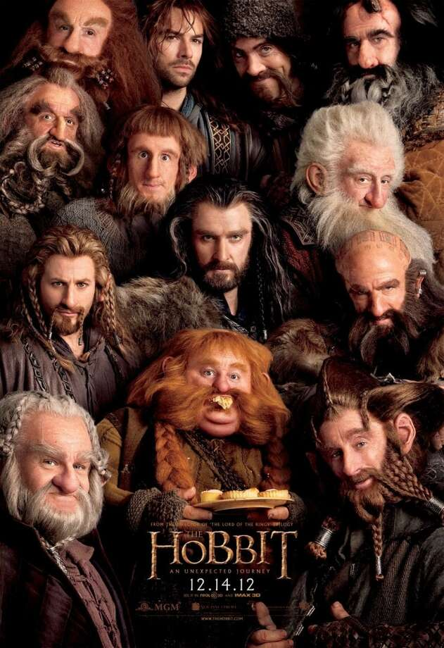 Entertainment Weekly #13 - THE HOBBITLike this movie needs the publicity. But at least it tells you what you're in for; by all accounts, this first part of the trilogy is very heavy on the dwarves.