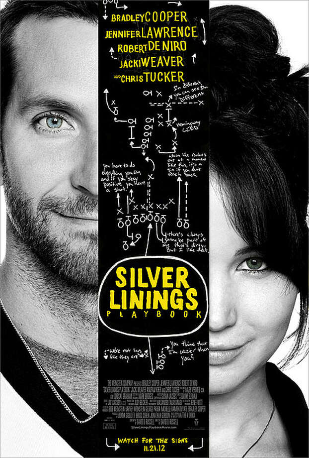Entertainment Weekly #16 - SILVER LININGS PLAYBOOKThis poster would be on my list, too. Look at - and read - it carefully. There's much to enjoy here, especially if you've already seen the movie.