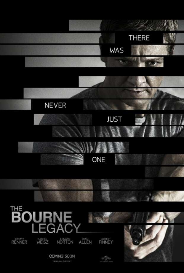 Entertainment Weekly # 20 - THE BOURNE LEGACYSeems generic to me, but EW praises it for its subtext of piecing together the plot ... and for Jeremy Renner's arms.