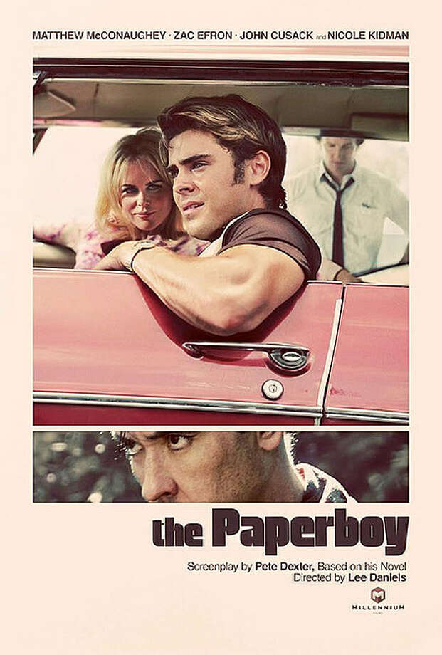 Entertainment Weekly # 21 - THE PAPERBOYI'm a sucker for any purposely vintaged poster. This one works nicely. Interesting that while, yes, Zac Effron is the title character, the main character played by Matthew McConaughey gets the least prominent - not to mention out of focus - placement. And am I the only one who's creeped out by John Cusack's eyelashes?