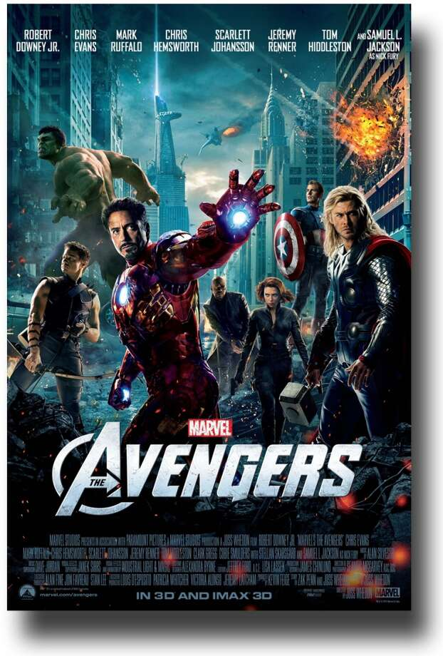 Entertainment Weekly #22 - THE AVENGERSAnother poster I don't think is all that special. Also, its so-serious and comic book-y tone (yeah, I know, I know ... it's based on a comic book) are at odds with the ultimate fun of the movie.