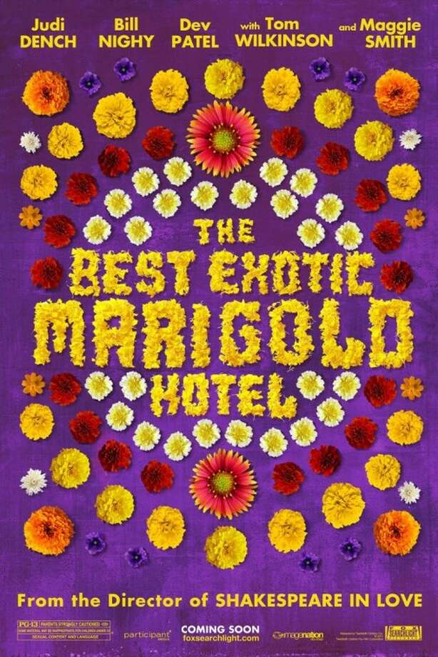 Entertainment Weekly #23 - THE BEST EXOTIC MARIGOLD HOTELDon't get me wrong - I think this is beautiful. But is it a movie poster?