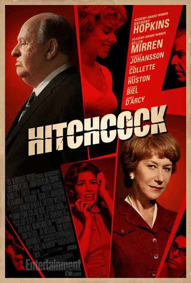 Entertainment Weekly #24 - HITCHCOCKAnother throwback poster that works. The red, the shocking cuts, the angles, the fonts. It could have been obvious and hackneyed, but I think it works perfectly.