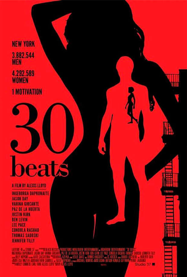 30 BEATSI had never even heard of this indie comedy about how a heatwave affects the sex lives of a group of New Yorkers, but this poster is superb, calling to mind both old pulp novels and retro record albums.
