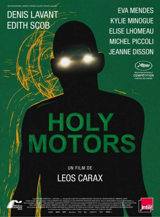 HOLY MOTORSI can't tell you what's going on here, or even what the movie's really about despite having read the synopsis. It just freaks me out - in a good way. It makes me want to see the movie.