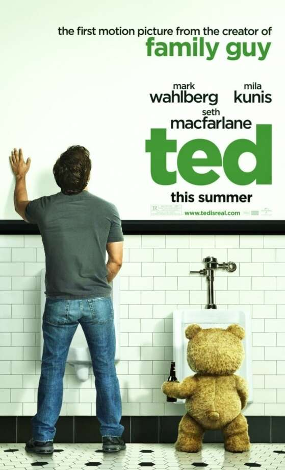 TEDHere's my Ted preference. It's not just because it features star Mark Wahlberg (or at least his back); it manages to point to the lifelong ease and friendship between man and bear and still get across the profane and naughty nature of the movie.