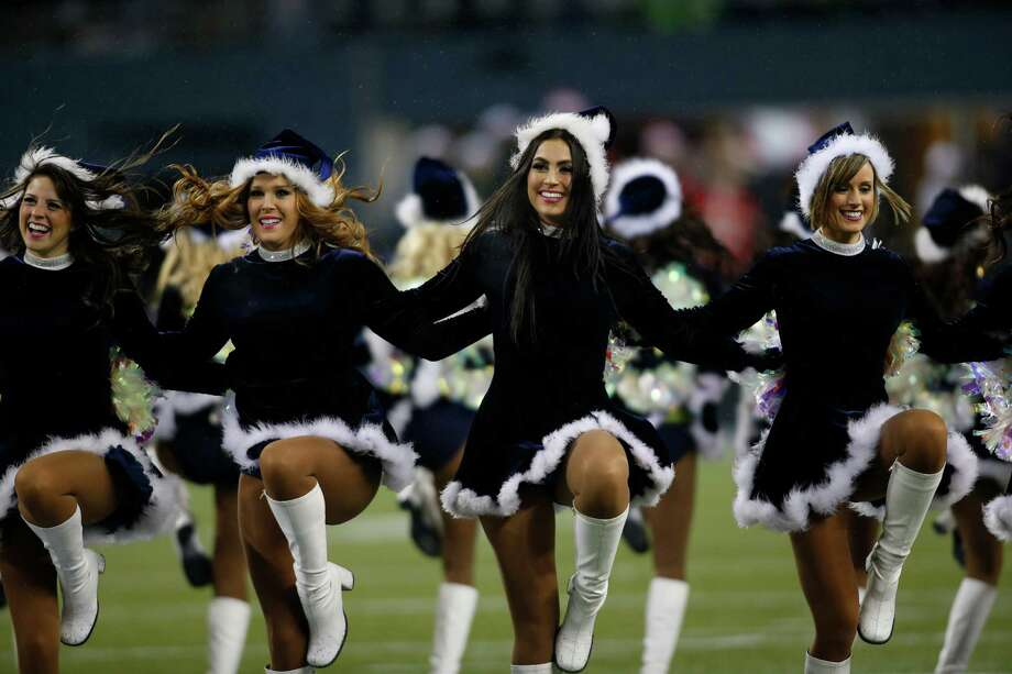 The Sea Gals got their Christmas spirit on Sunday. Photo: Ap/getty