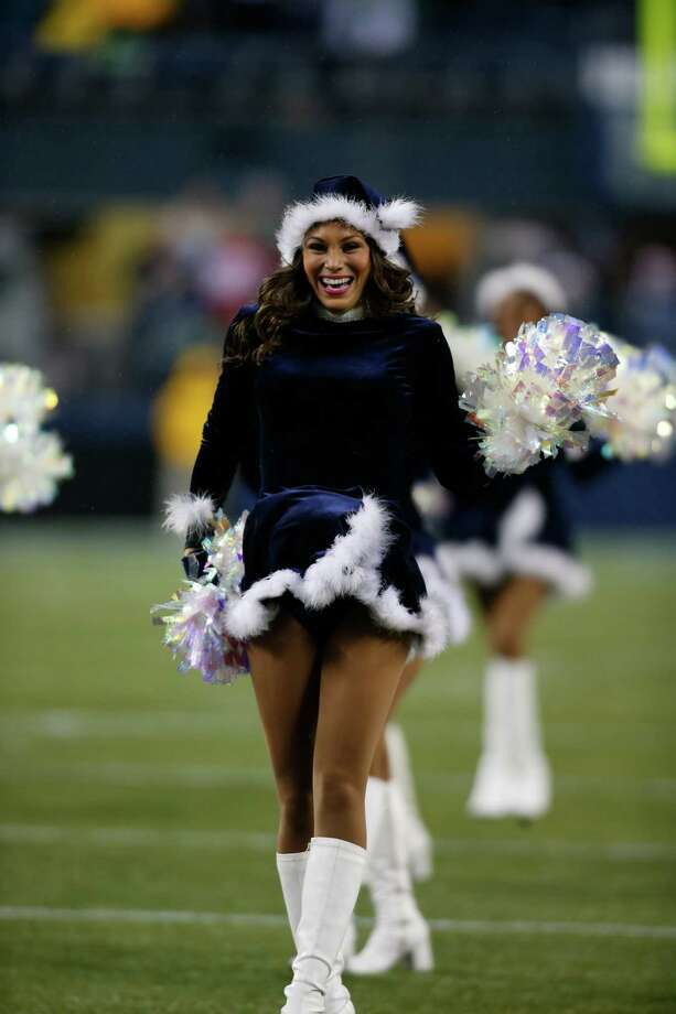 She smiled before the game, but we bet she was really happy after the win. Photo: Ap/getty