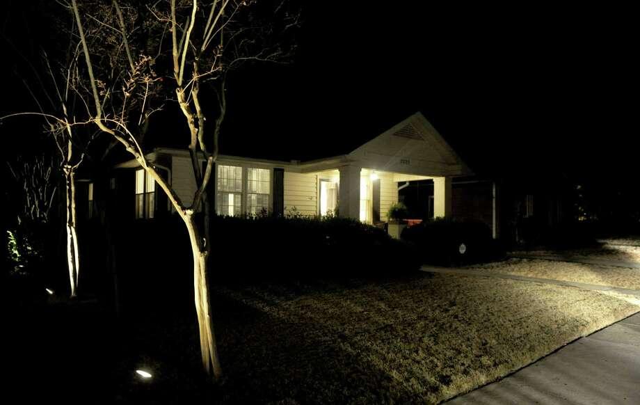 The home Madonna Badger rents in Little Rock, Arkansas, on Sunday, December 2, 2012. Photo: Lindsay Niegelberg / Stamford Advocate