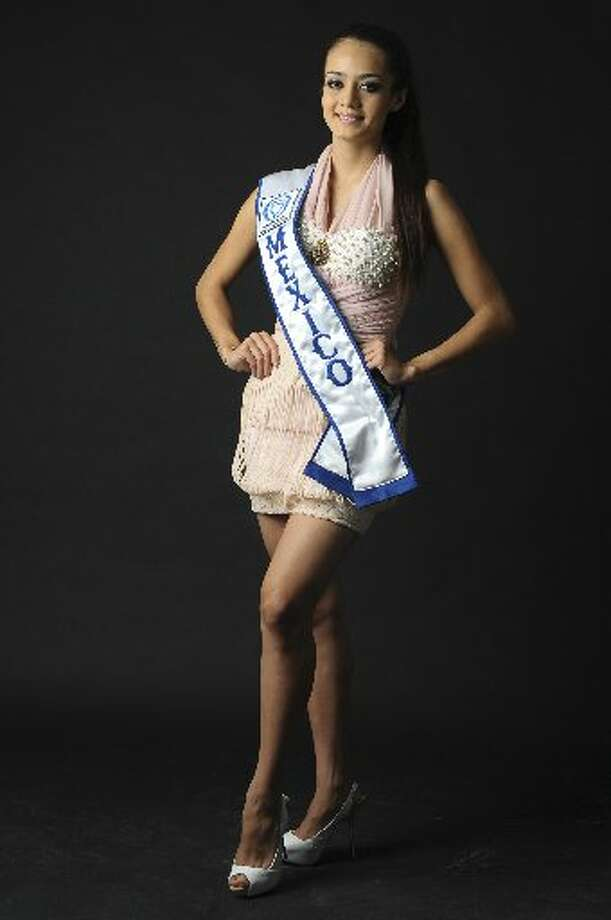 Mexican Maria Susana Flores Gamez poses during a visit to El Debate newspaper on April 26, 2012 in Culiacan, Sinaloa state, Mexico. Flores Gamez, a 22 year-old competitor in Miss Sinaloa 2012 beauty contest, died during an armed confrontation between Mexican soldiers and an armed commando of alleged drug traffickers past November 24 in Culiacan. AFP PHOTO / EL DEBATE - Gladys SERRANOGladys Serrano/AFP/Getty Images