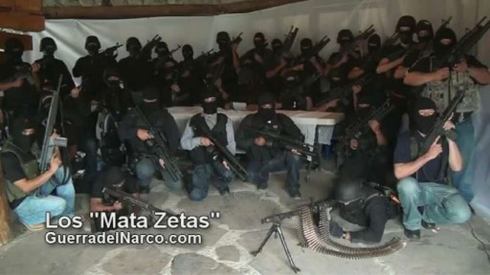 Screen capture of a paramilitary group which vowed to eliminate the Zetas, reputedly Mexico's most v