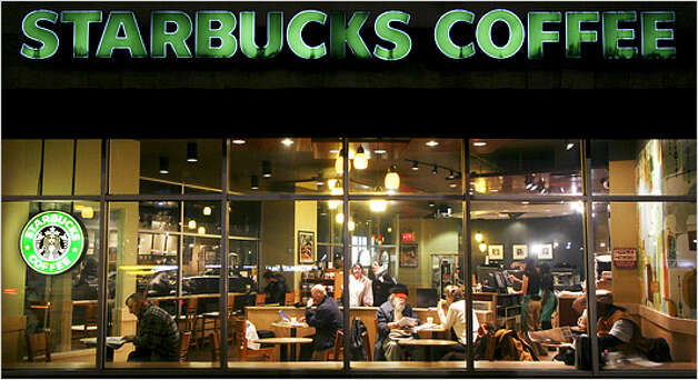 "21. Starbucks, based in Seattle. Reputation Quotient: 74.82, making it ""good."""