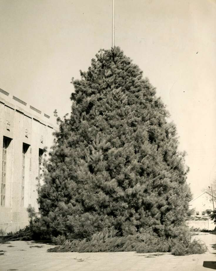 The Tree of Light outside Houston s City Hall, 1952. (Chronicle file)