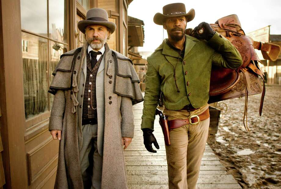 Schultz (Christoph Waltz) and Django (Jamie Foxx) Photo: ANDREW COOPER SMPSP / © 2012 The Weinstein Company