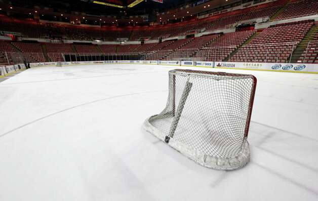 NHL season is on ice
