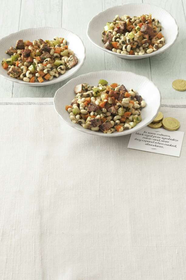 Country Living recipe for Black-Eyed Pea Salad with Spicy Mustard Dressing. Photo: Kate Sears