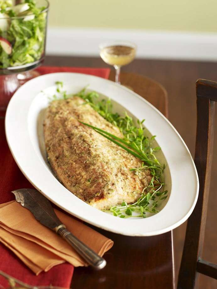 Good Housekeeping recipe for Ginger-Miso Glazed Salmon. Photo: John Kernick