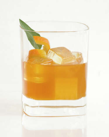 The Old Fashioned 2012 is a holiday cocktail made with Wild Turkey 101 Bourbon. Photo: Wild Turkey