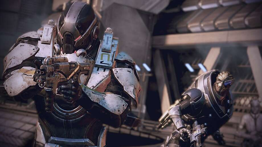 "This screen shot is from ""Mass Effect 3,"" which offers a fitting end to a top-notch trilogy of games. Photo: Anonymous, Associated Press"