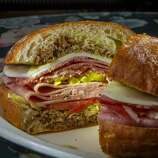 Morucci's Deli: The Italian sub, a.k.a. No. 1 - a fresh ciabatta roll stuffed with salami, mortadella, hot coppa, provolone, pepperoncini and a generous schmear of garlicky pesto ($6.75) - is reason enough to visit to this popular deli. Other top picks include the No. 2, a chicken Caesar salad in sandwich form ($6.75); and the No. 00 - oven-roasted turkey with your choice of bread and toppings ($6.99). Vitals: 1218 Boulevard Way (near Flora Avenue), Walnut Creek; (925) 939-2426. Open daily.