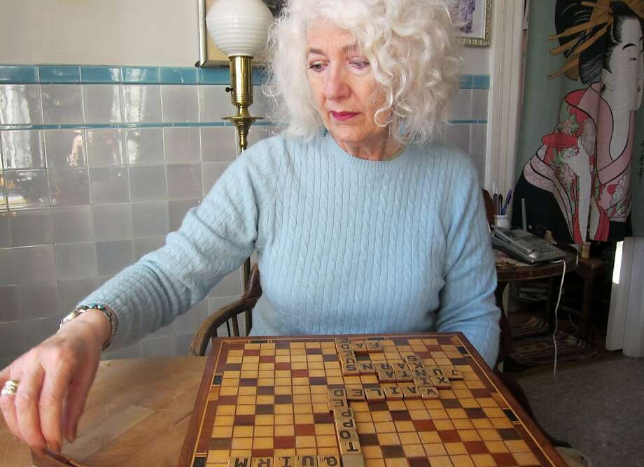 Renee Gibbons says playing Scrabble nearly every day with her husband, Lew, keeps her interested in learning new words. Photo: Lew Gibbons