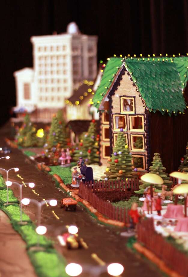 At the Ritz-Carlton New Orleans, everything in the gingerbread village is edible except the working electric lights.