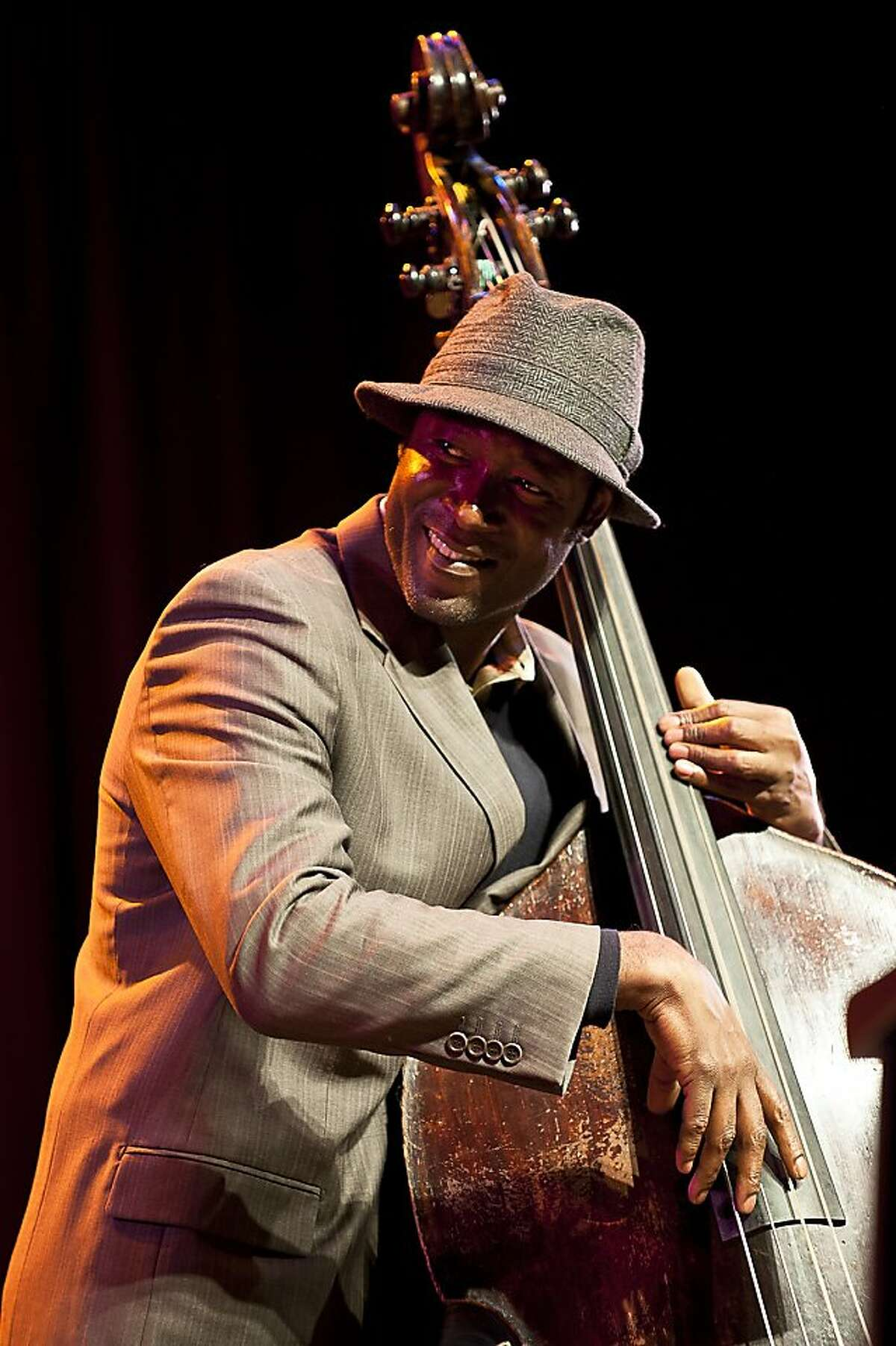 Bassist and composer Marcus Shelby, who's putting together a jazz choir for the Healdsburg Jazz Festival with a two-year grant from the James Irvine Foundation.