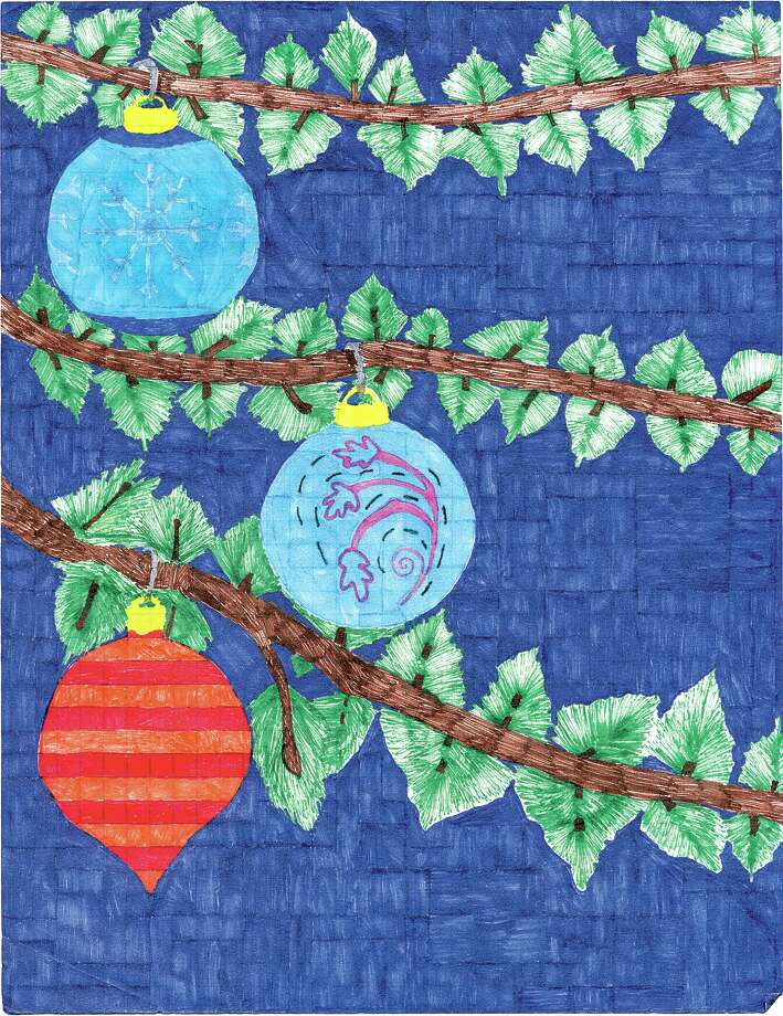The grand-prize winner in our annual holiday card contest is by Catherine Gagnon, an eighth-grader at Robert C. Parker School in North Greenbush.