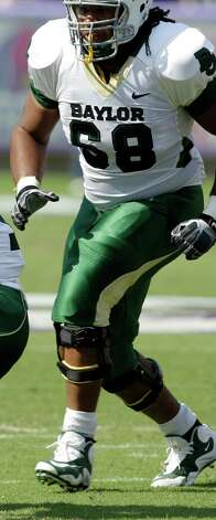 OFFENSEOL: Cyril Richardson, Baylor, 6-5, 335, Jr., Fort Worth (North Crowley) Photo: Tony Gutierrez, Associated Press / AP