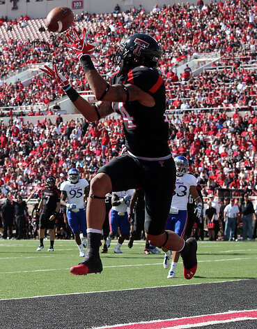 OFFENSEWR: Darrin Moore, Texas Tech, 6-4, 216, Sr., Irving (McArthur/Blinn J.C.) Photo: Zach Long, AP Photo/Lubbock Avalanche-Journal / Lubbock Avalanche-Journal