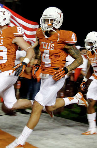 DEFENSEDB: Kenny Vaccaro, Texas, 6-1, 218, Sr., Brownwood (Early) Photo: Jack Plunkett, Associated Press / FR59553 AP