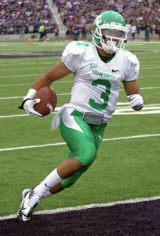 OFFENSEAP: Brelan Chancellor, North Texas, 5-9, 183, Jr., Copperas Cove Photo: Orlin Wagner, Associated Press / AP