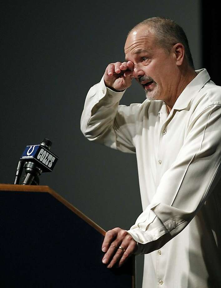 Chuck Pagano is once again coaching the Colts after battling leukemia the past three months. Photo: Sam Riche, McClatchy-Tribune News Service