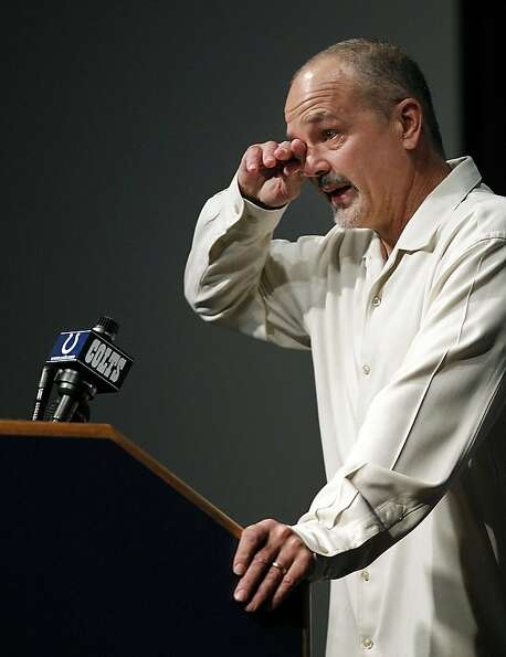 Chuck Pagano is once again coaching the Colts after battling leukemia the past three months.
