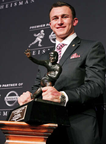 Offensive Player of the Year Johnny Manziel, Texas A&M: It's hard to argue with picking the Heisman Trophy winner, who turned supposedly stout Southeastern Conference defenses into his own personal playgrounds all season en route to a season for the ages. Photo: Edward A. Ornelas, San Antonio Express-News / © 2012 San Antonio Express-News