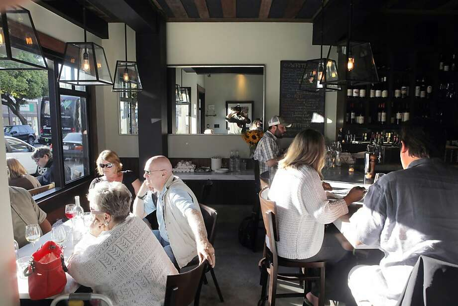 The food is still good at Bistro Aix on Steiner Street, but the touches by the kitchen and staff that made the restaurant so compelling are absent. Photo: Carlos Avila Gonzalez, The Chronicle