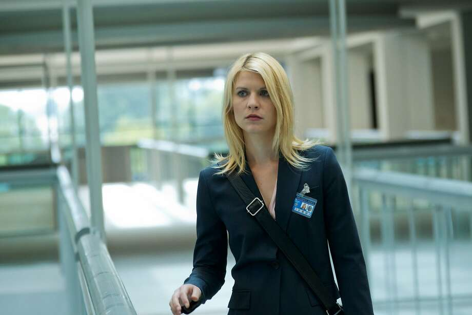 "The best shows of 2012: Claire Danes portrays Carrie Mathison in a scene from the Showtime original series ""Homeland."" Photo: Kent Smith, Associated Press"