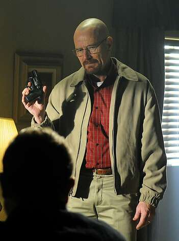 "In this image released by AMC, Bryan Cranston portrays Walter White in a scene from ""Breaking Bad."" Photo: Ursula Coyote, Associated Press"