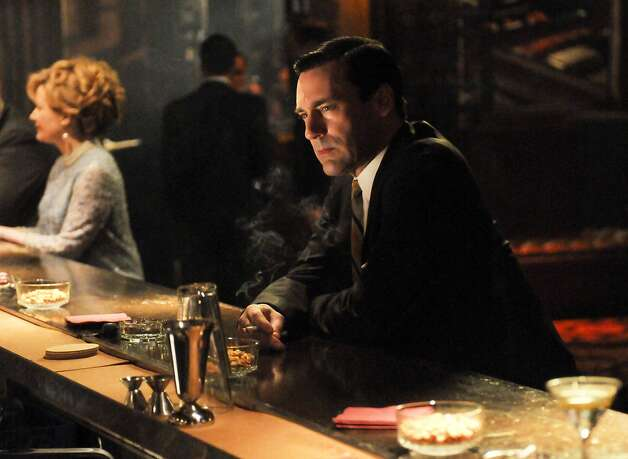"This image released by AMC shows Don Draper portrayed by Jon Hamm in the season five finale of ""Mad Men."" Photo: Michael Yarish, Associated Press"