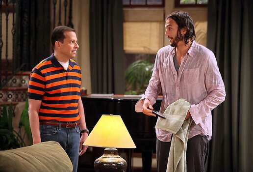 "CBS' ""Two and a Half Men."" Photo: Danny Feld, Associated Press"