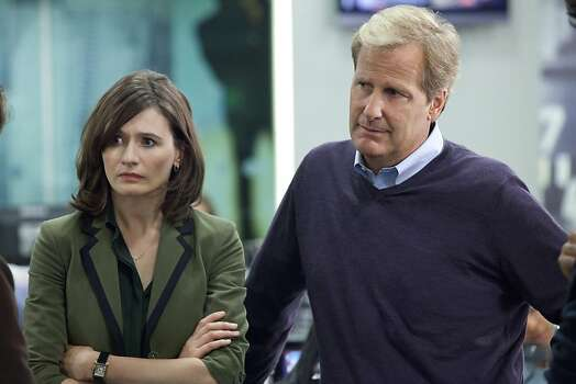 """The Newsroom,"" Aaron Sorkin's show on HBO, needs some character adjustment. Photo: Melissa Moseley, Associated Press"