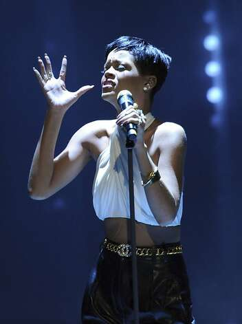 Rihanna will perform April 6 at HP Pavilion in San Jose. Photo: Harald Tittel, Associated Press