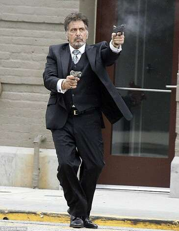 "Al Pacino stars in ""Stand Up Guys."" Photo: Lionsgate"
